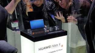 Le pliable Huawei Mate X reste sous verre...
