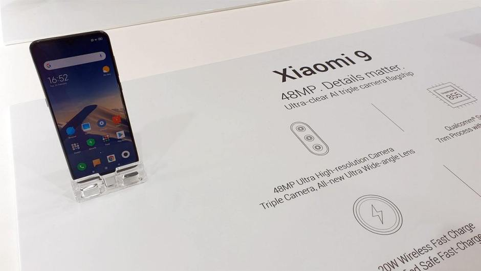 Le Xiaomi Mi 9 et son capteur Sony de 48 millions de pixels.