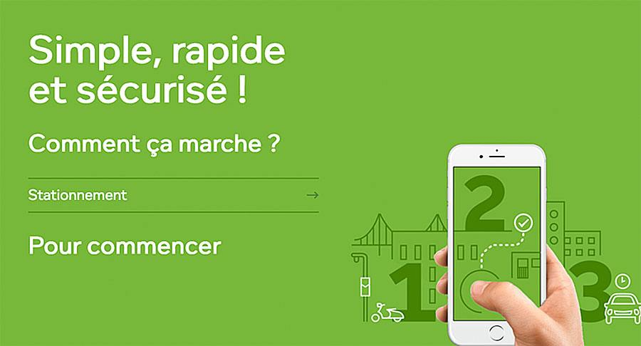 L'application PaybyPhone vous relie aux contractuels.