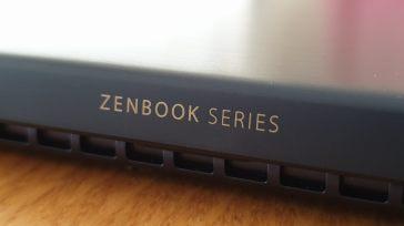 Un design soigné pour le Zenbook 14 d'Asus.