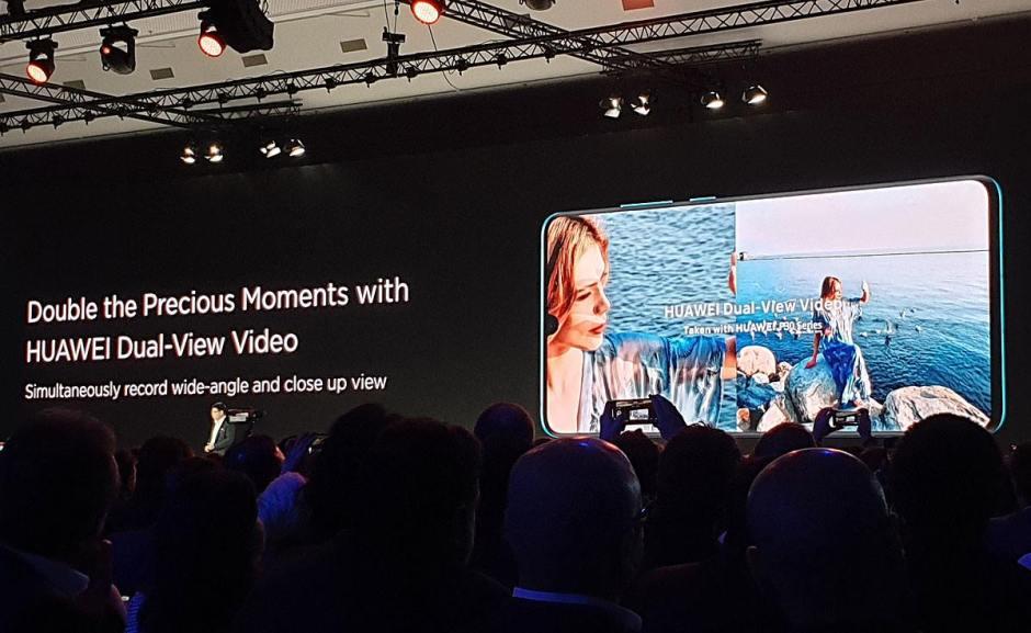 Le double mode vidéo du Huawei P30 Pro.