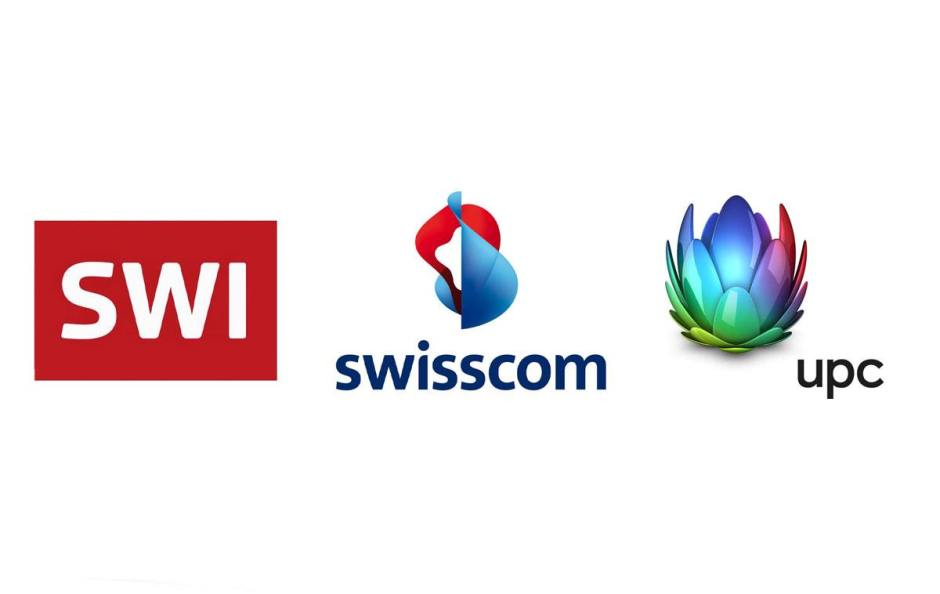 Swissinfo, Swisscom et UPC.