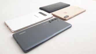 Huawei P30 Pro vs Samsung Galaxy S10+ vs iPhone Xs Max vs Sony Xperia Xz3.