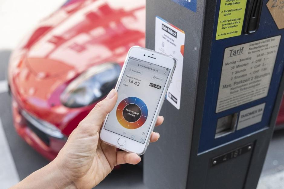 Twint débarque sur les parking suisses et dans l'app. CFF.