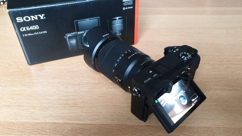 Le Sony Alpha 6400 pour des vidéos 4K très piquées...