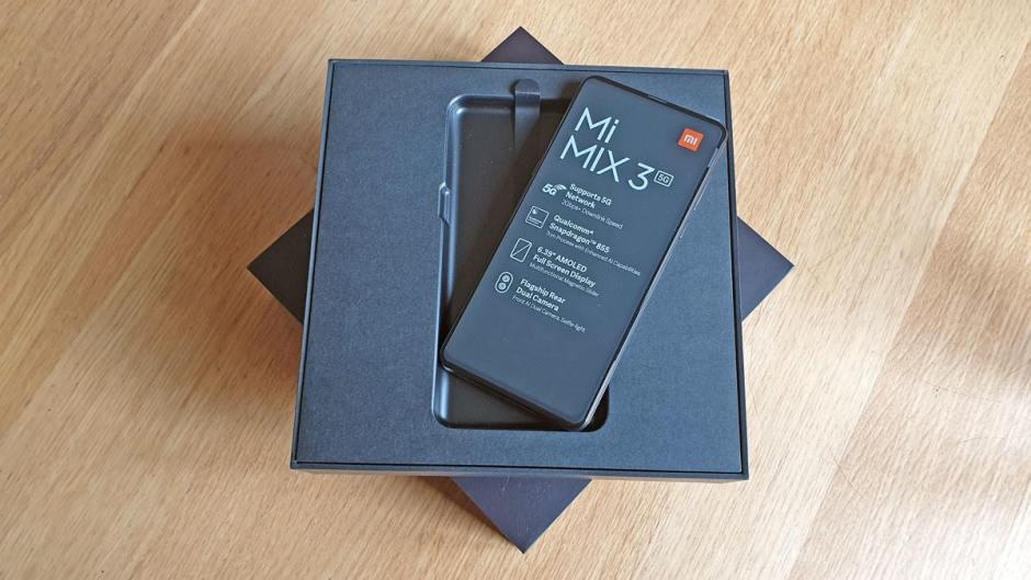 Le Xiaomi Mi Mix3 5G.