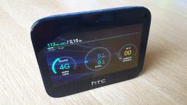 Le bel écran du HTC hub 5G de Sunrise.