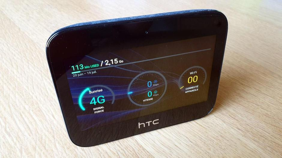 HTC hub 5G: une exclusivité Sunrise.
