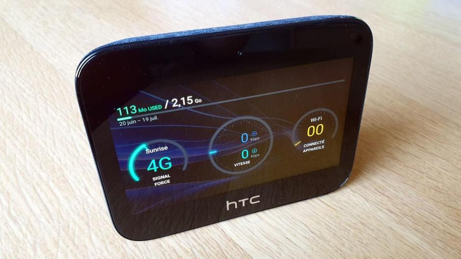 HTC hub 5G: une exclusivité Sunrise.
