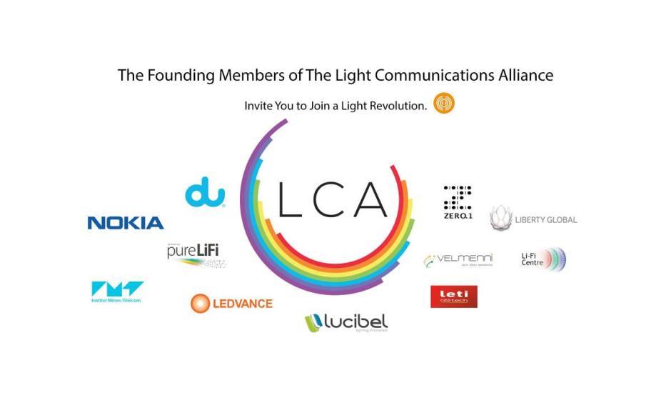 La Light Communications Alliance avec Nokia parmi ses membres.
