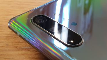 Samsung Galaxy Note 10+: les trois principaux capteurs photo.