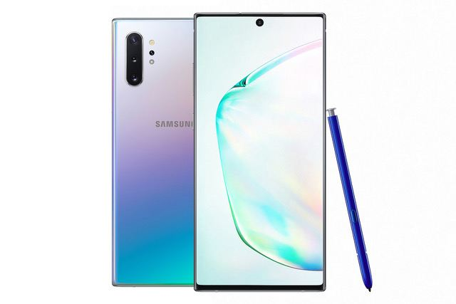 Le Samsung Galaxy Note 10+ et son stylet multifonctions.