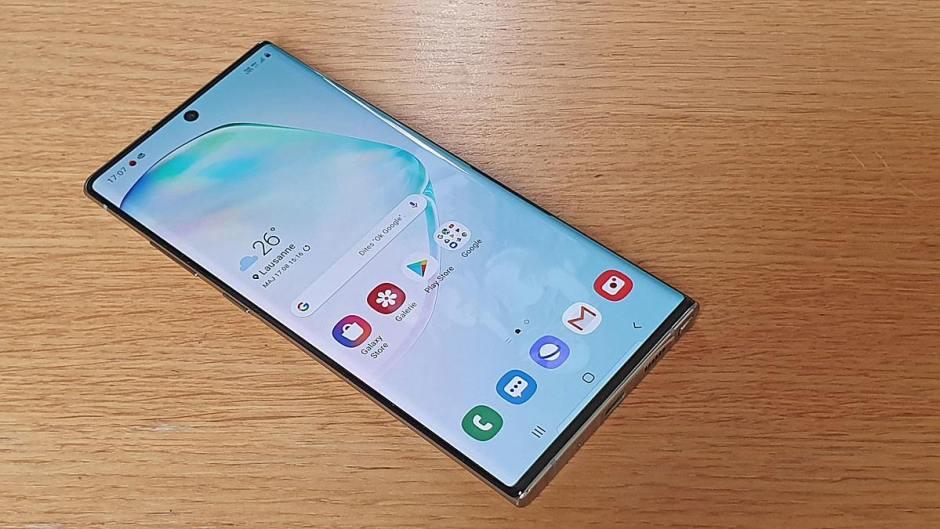 Samsung Galaxy Note 10+: son écran AMOLED, son design...