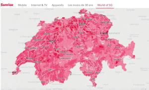 Exemplaire, Sunrise veut se positionner comme le leader suisse de la 5G!