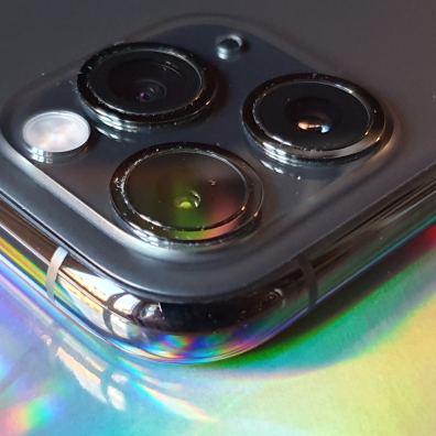 La triple optique de l'iPhone 11 Pro Max d'Apple.