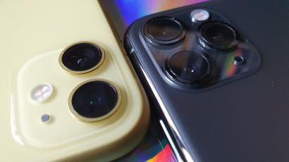 Les iPhone 11 et iPhone 11 Pro Max d'Apple.