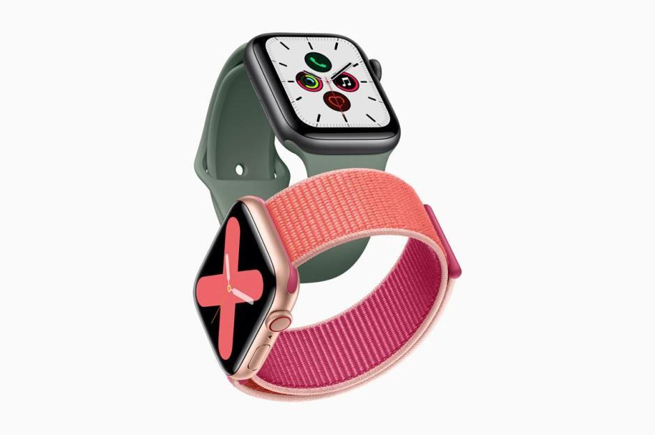 L'Apple Watch Series 5.