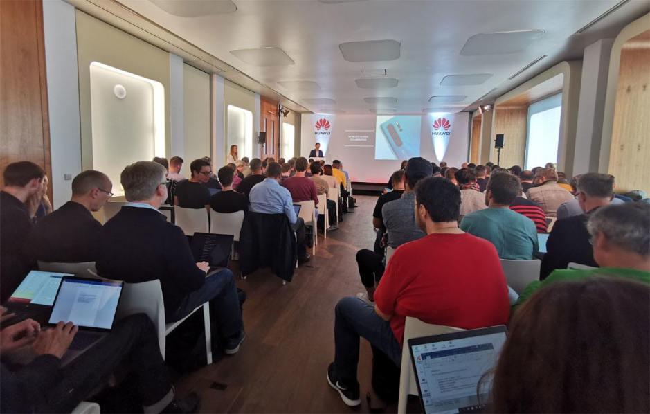 Le «pre-event» de Huawei à Munich, 19 septembre 2019.