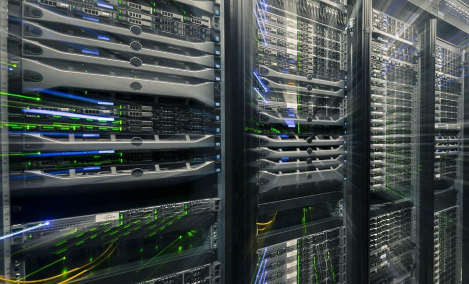 Un centre de données Infomaniak.