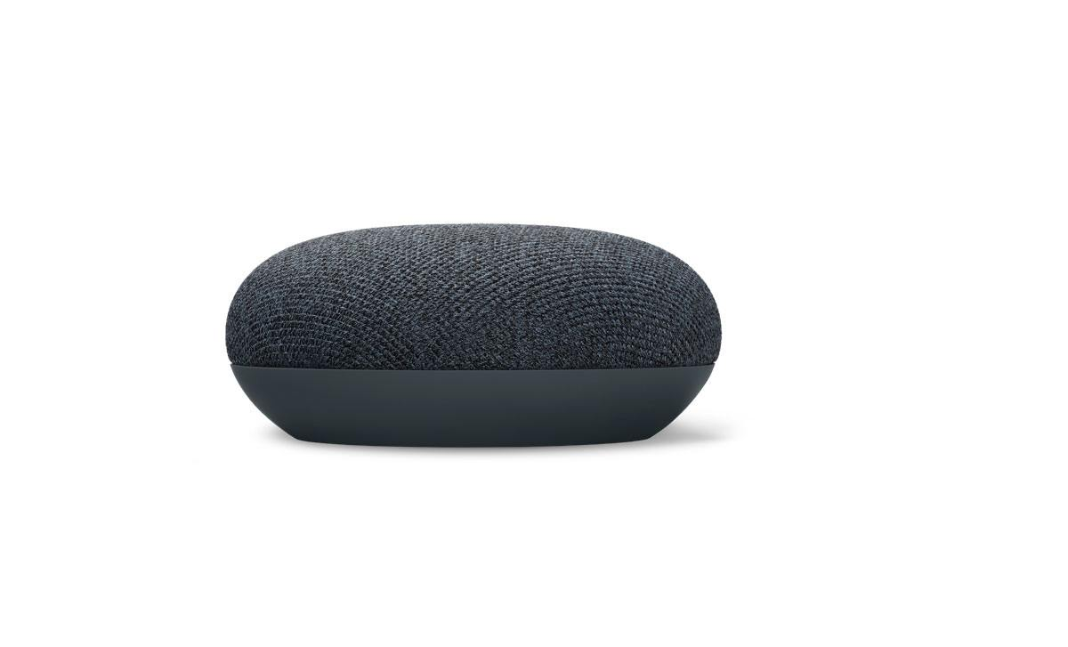Google Nest Mini, en vente dans les MM du géant orange.