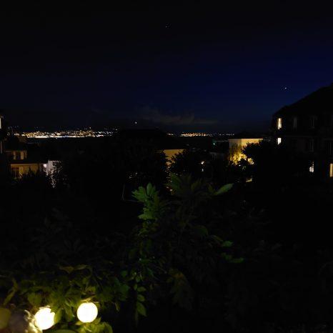 Scène de nuit complète: Sony Xperia 5.