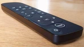 La nouvelle télécommande pour Salt TV: design, sobre, simple.