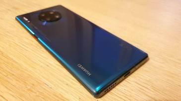 Huawei Mate 30 Pro: pour son appareil photo…