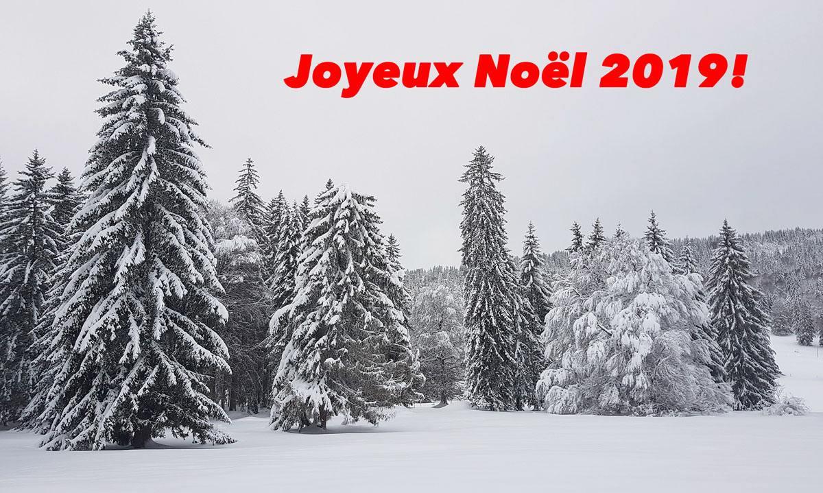 Joyeux Noël 2019!