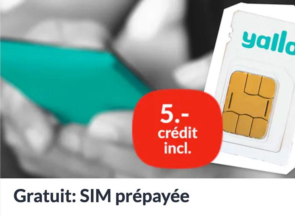 Offrir des SIM pour toucher ensuite le jackpot: habile!