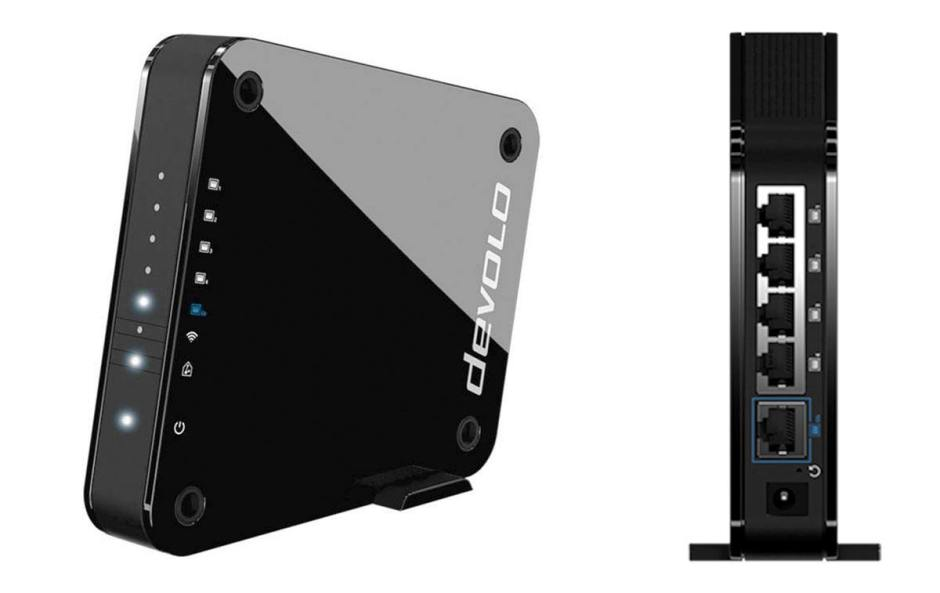 Le Devolo Access Point One. puissant et compact.