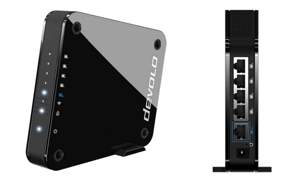 Le Devolo Access Point One. puissant et compact.