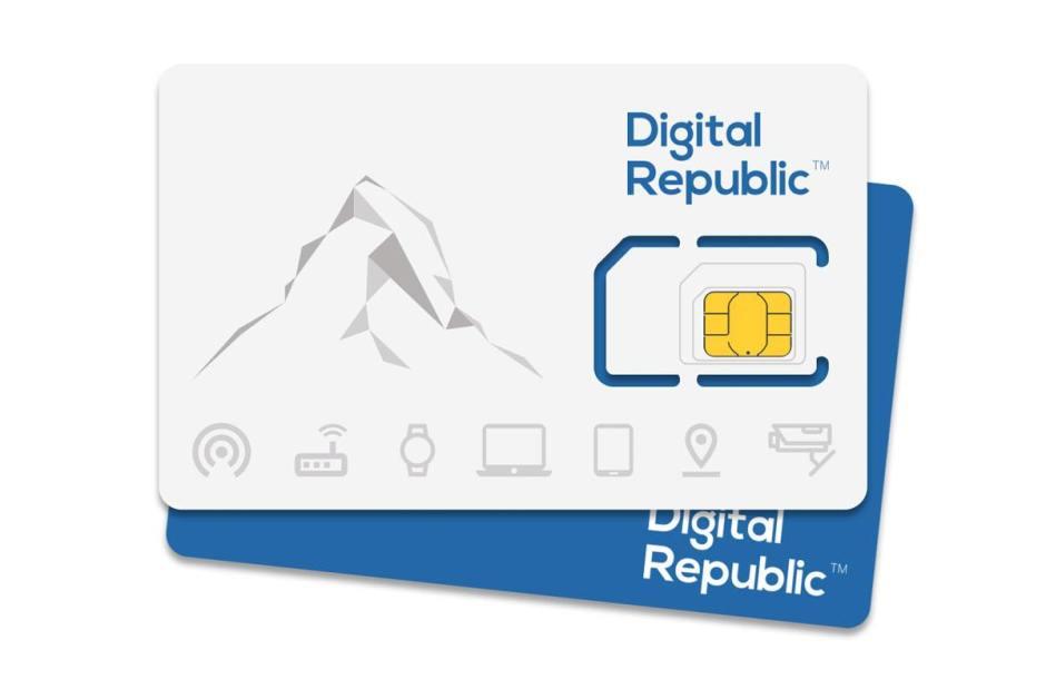 Digital Republic utilise les réseaux de Sunrise et Swisscom.
