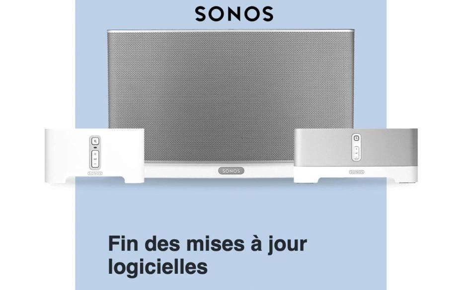 Sonos a voulu contraindre ses clients à changer d'appareils en invoquant la fin des mises à jour...