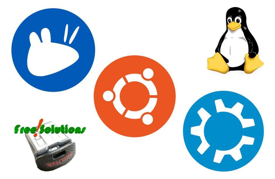 Ubuntu, Kubuntu, Xubuntu ou Green Spider.