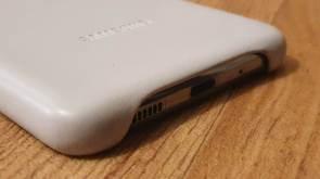 La coque en cuir du Samsung Galaxy S20 Ultra 5G.