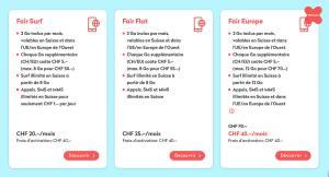 Wingo de Swisscom lance deux nouveaux abonnements. Attention!
