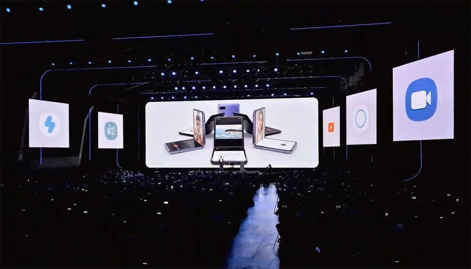 Samsung a dévoilé ses nouveaux Galaxy S20 et Z Flip à San Francisco.