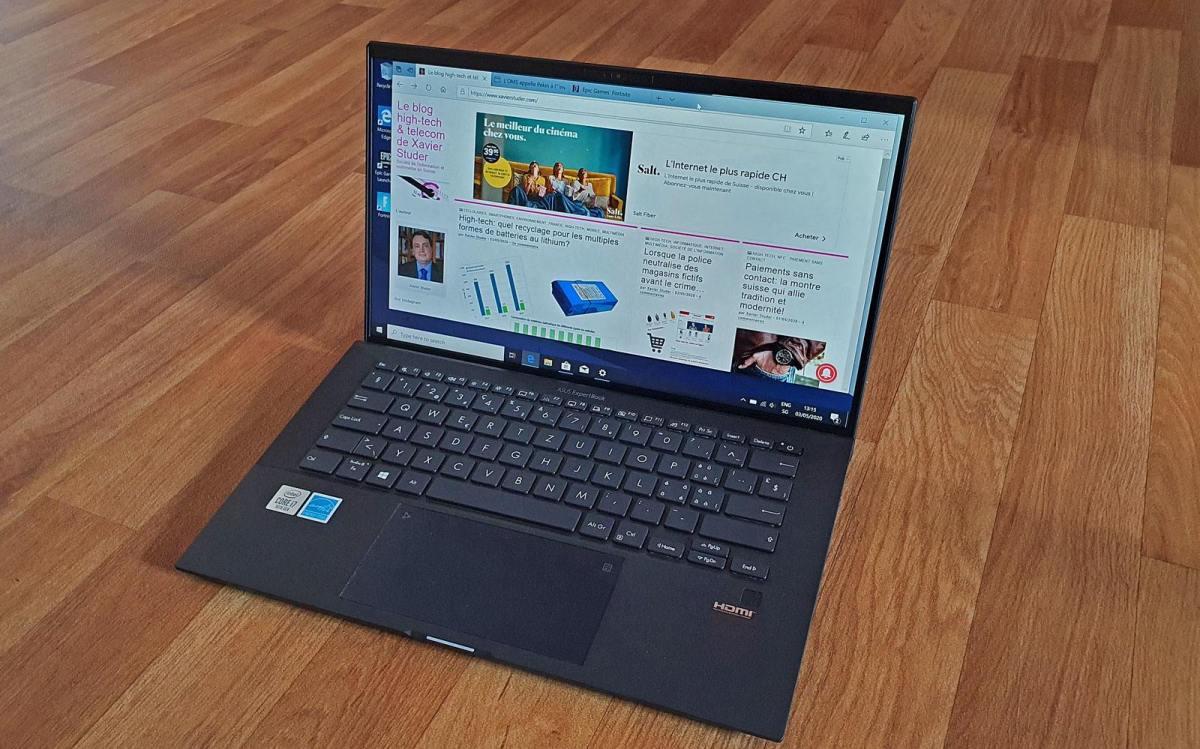 Que vaut l'Asus ExpertBook B9? Test multimédia.