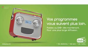 Nouvelle campagne de pub pour le DAB+ avant la fin lointaine de la FM…
