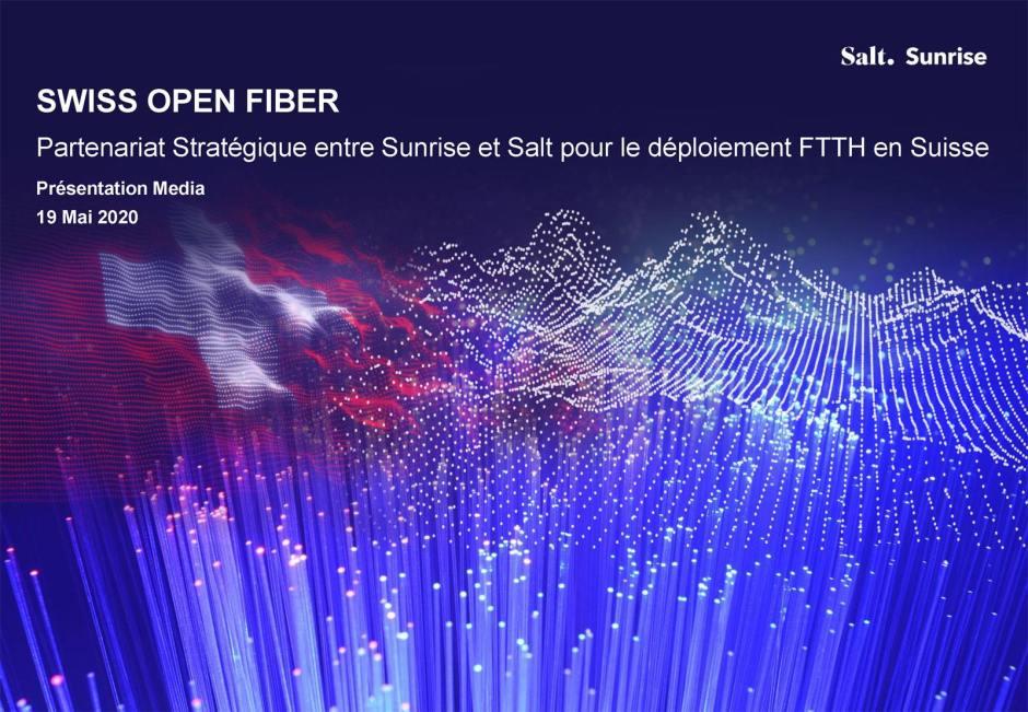 Swiss Open Fiber réunit Salt et Sunrise.