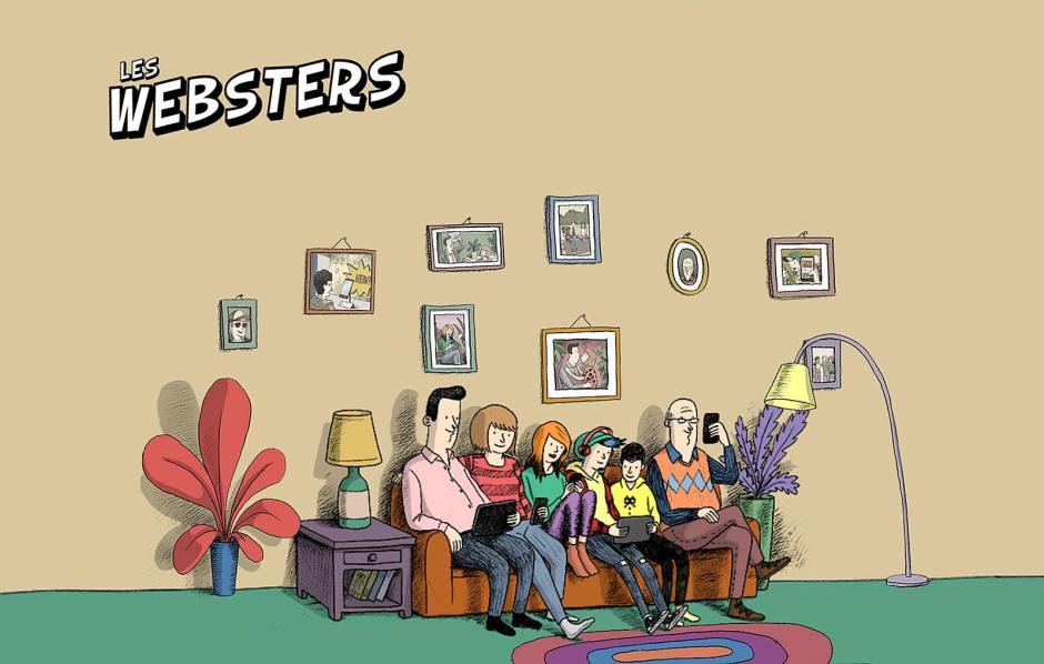 Les Websters sont de retour. Voici la saison 2!