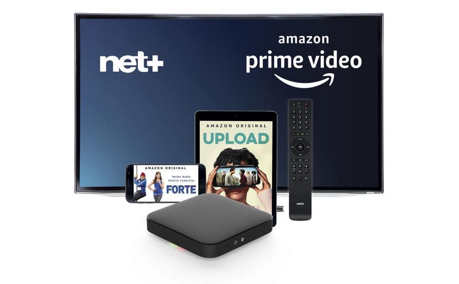 Net+ est le premier opérateur suisse à intégrer dans ses box l'application Amazon Prime Video!.