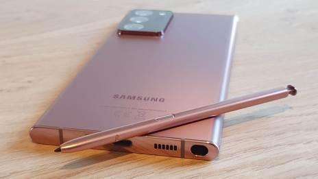 Le Samsung Note 20 Ultra 5G: le stylet qui fait toute la différence...