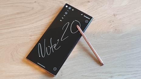 Le Samsung Note 20 Ultra 5G: un écran à couper le souffle.
