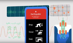 Transformer les smartphones en sismographes? Google l'a fait!