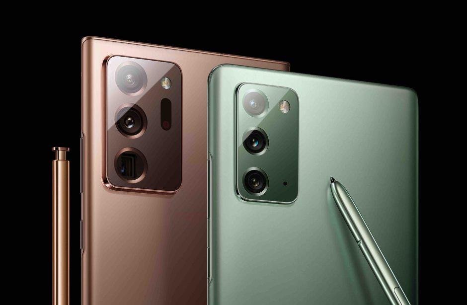 Les nouveaux Galaxy Note 20 dès le 21 août, à partir de 1029 francs.