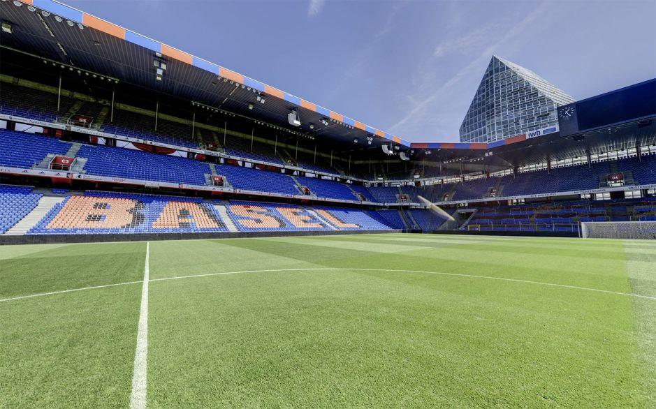 Le stade St-Jacques de Bâle se met au Wi-Fi 6, selon Huawei.