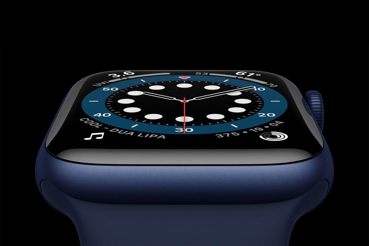L'Apple Watch series 6.