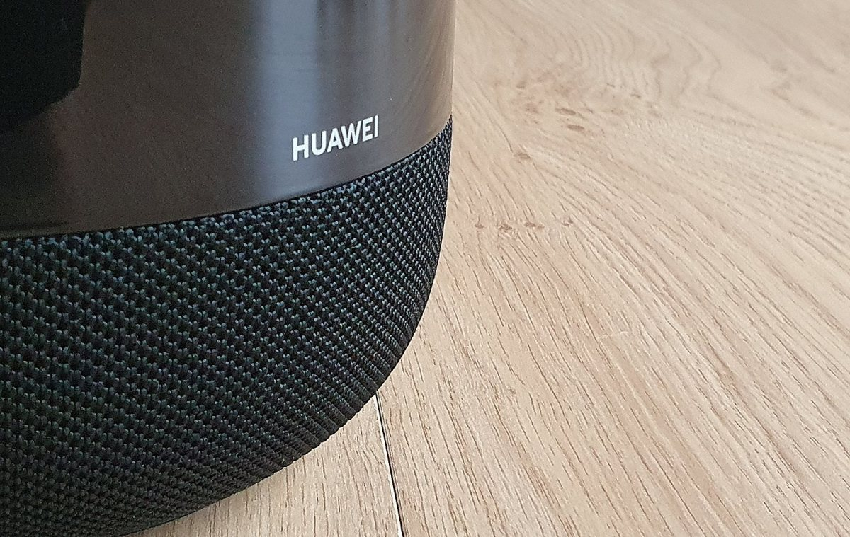 Le Huawei Sound X est ultra brillant.