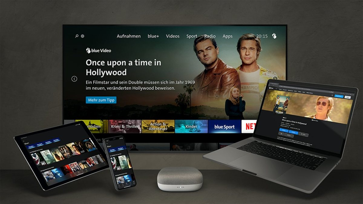 Swisscom TV devient Blue TV.